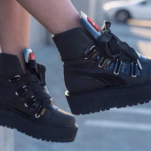 quality design 30964 c8f4d Fenty Puma By Rhianna Sneaker Boots NWT